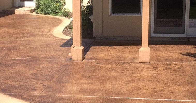 Concrete Staining Santa Cruz, CA | Concrete Stainer, Concrete Floor ...